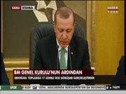 Erdoğan, BM Kurulunun ardından açıklama yaptı