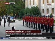 Erdoğan'dan iade-i ziyaret