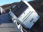 Eskişehir'de otobüs devrildi; 43 yaralı!