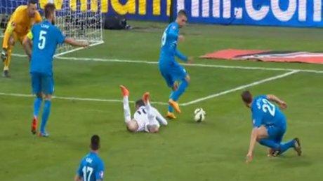 Rooney skoru eşitledi