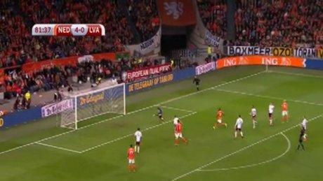 Arjen Robben maçtaki 2. golünü attı
