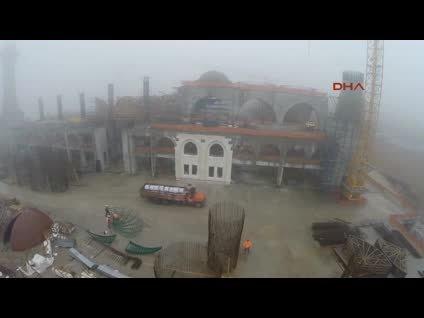 Çamlıca Camii'nde son durum
