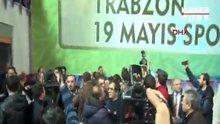 Trabzonspor Genel Kurulu kavgayla başladı