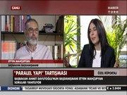 Etyen Mahçupyan Habertürk TV'ye konuk oldu