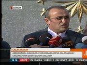 Abdurrahim Albayrak'ın açıklamaları