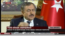Veysel Eroğlu Habertürk'e konuştu!