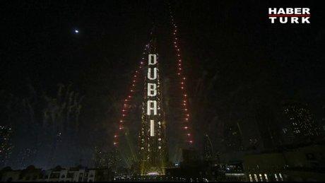 Dubai yeni yıla böyle girdi