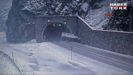 Karabük'teki servis kazasının görüntüleri ortaya çıktı
