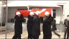 Şehit polis için emniyette tören