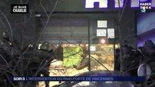 Paris'teki market saldırganının vurulma anı