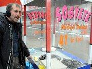 Erzurum'a midye dolma getirdi ama...