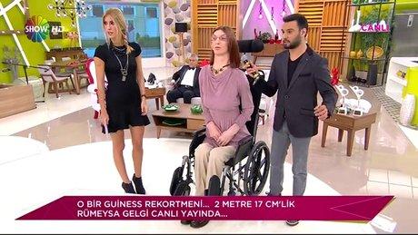 Dünyanın en uzun kadını Her Şey Dahil'de