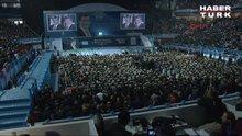 Erdoğan, sesiyle Ak Parti kongresinde
