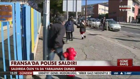 Fransa'da polise saldırı!