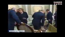 Alexander Lukaşenko'dan Putin'e sandalye şakası