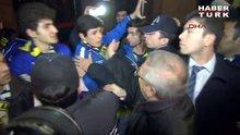 Fenerbahçe'ye Gaziantep'te olaylı karşılama