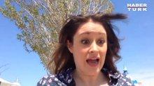 Selfie çekerken başına gelene inanamadı