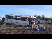 Bursa'da 2 otobüs çarpıştı