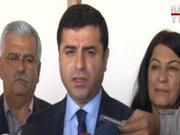 HDP Eş Başkanı Selahattin Demirtaş'tan Dolmabahçe açıklaması