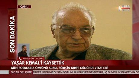 Ahmet Ümit, Yaşar Kemal'in vefatı hakkında konuştu