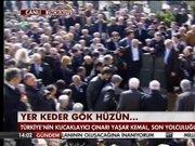 Yaşar Kemal son yolculuğuna uğurlandı!