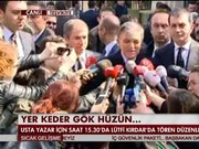 Abdullah Gül Yaşar Kemal'i anlattı