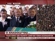 Yaşar Kemal alkışlarla uğurlandı