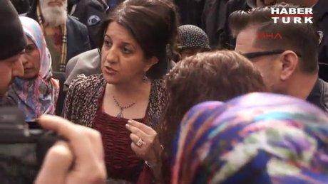 Pervin Buldan ile polis arasında 'Öcalan' tartışması