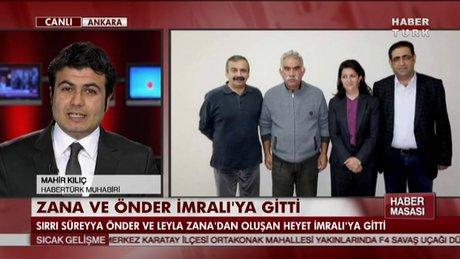 Leyla Zana ve Sırrı Süreyya Önder İmralı'ya gitti!