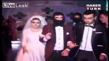 IŞİD infazı temalı düğün