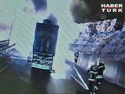 LPG tankeri patladı: 2 yaralı