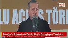 Cumhurbaşkanı Erdoğan'a Demba Ba'lı sürpriz