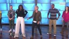 Michelle Obama obeziteyle mücadele için dans etti