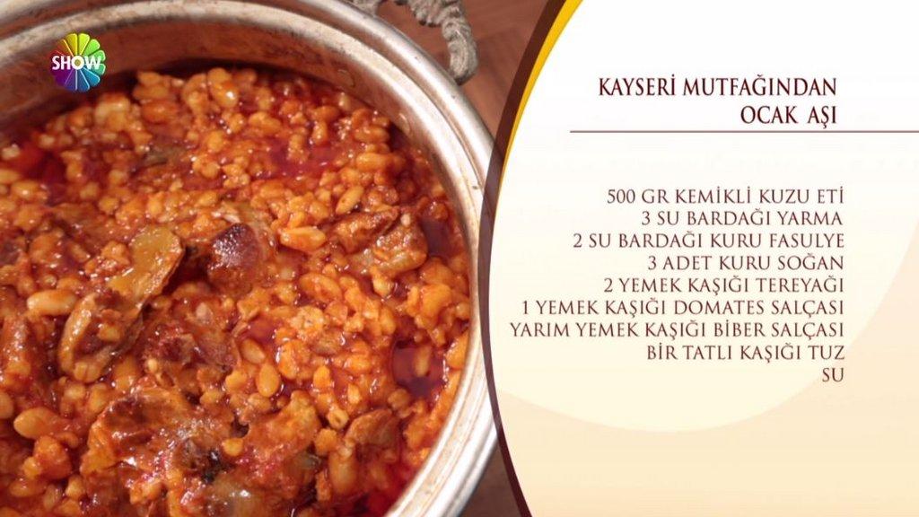 Ocak Aşı tarifi / Nursel'in Mutfağı