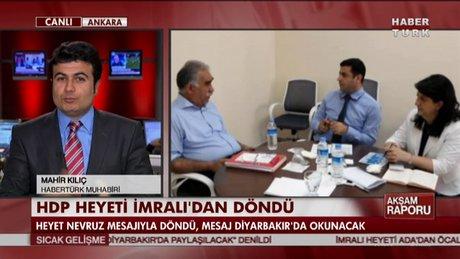 HDP heyeti İmralı'dan döndü!