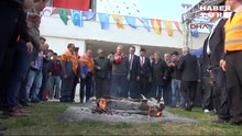Deniz Baykal Nevruz kutlamalarında ateşten atladı