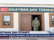 Necdet Özel'den Süleyman Şah ziyareti