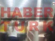 Savcı Kiraz'ın adliyeden çıkarılma anı Habertürk'te!