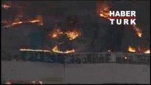 ABD'de dev fabrika yangını!