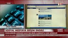 Sosyal medyaya erişim engeli!