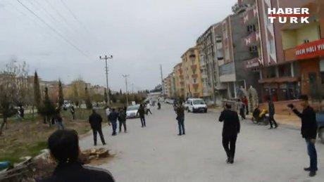 Adıyaman'da karşıt görüşlü öğrencilerin kavgasına polis müdahale etti