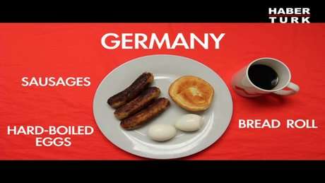 Dünya Kahvaltıda Ne Yiyor?