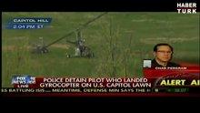 ABD Kongresi'ne helikopterle indi, başkenti alarma geçirdi