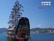 Marmaris'te korsan gemisi Barbossa