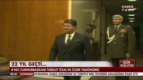 Turgut Özal vefatının 22. yılında anılıyor!