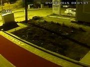 Saldırı güvenlik kamerasında