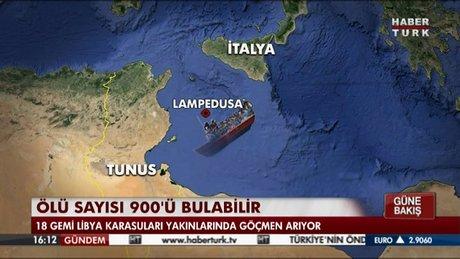 Akdeniz'de göçmen faciaları!