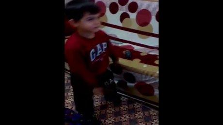 Ahmet'ten Recep İvedik tiplemesi