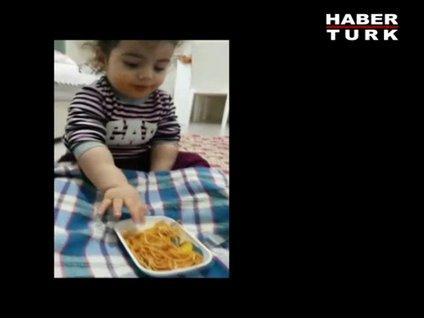 Zeynep Didem'in beslenme saati!