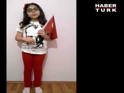 Zeynep Sena'nın 23 Nisan şiiri